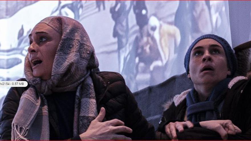 'Moria' se estrena en Gran Canaria para denunciar el drama de las islas jaula