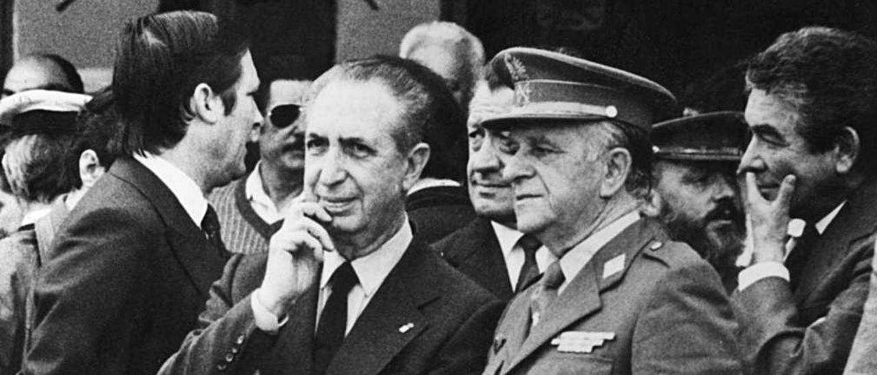 , Rafael Fernández, durante su época como presidente regional.