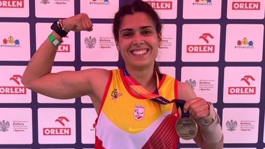 La alicantina Míriam Martínez consigue la Plata en los Juegos Paralímpicos