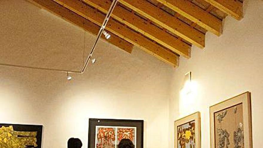 Bocairent acoge una exposición de arte contemporáneo de la Generalitat