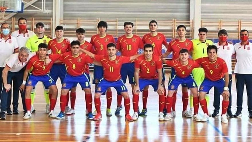 La selección sub-19 de los benaventanos Novoa y Galindo pasa a semifinales