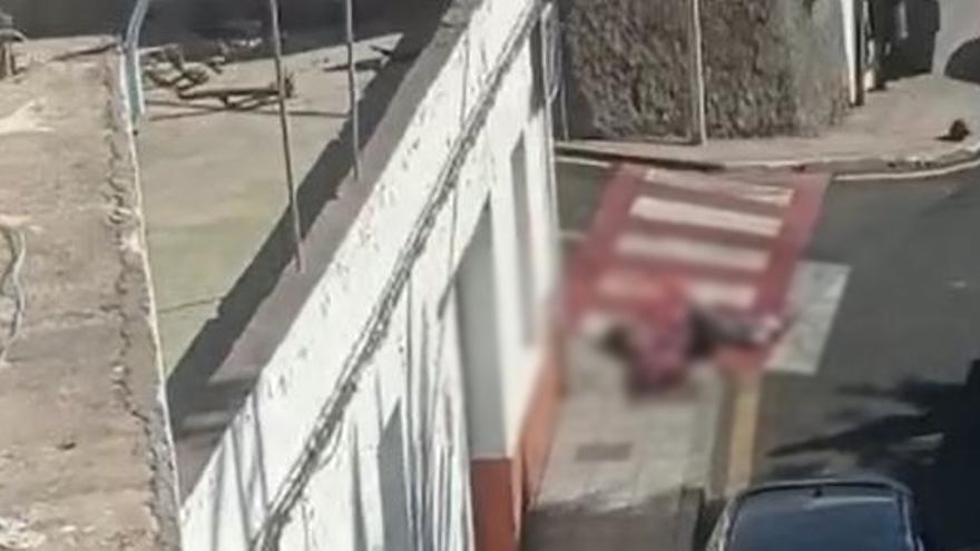 Vídeo: Un hombre apuñala a una mujer en Guía de Isora
