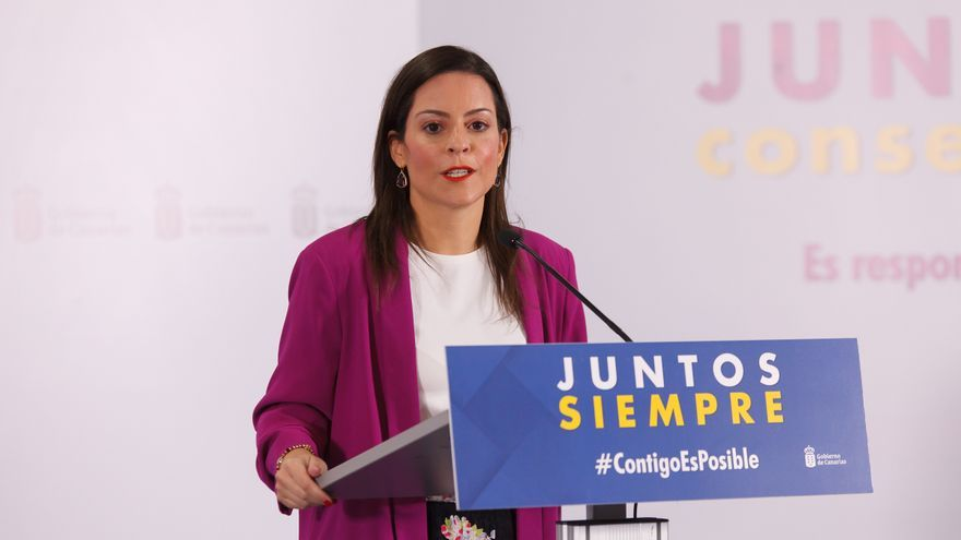 Yaiza Castilla destaca el interés del operador Jet2 en potenciar sus viajes a Canarias para la campaña navideña