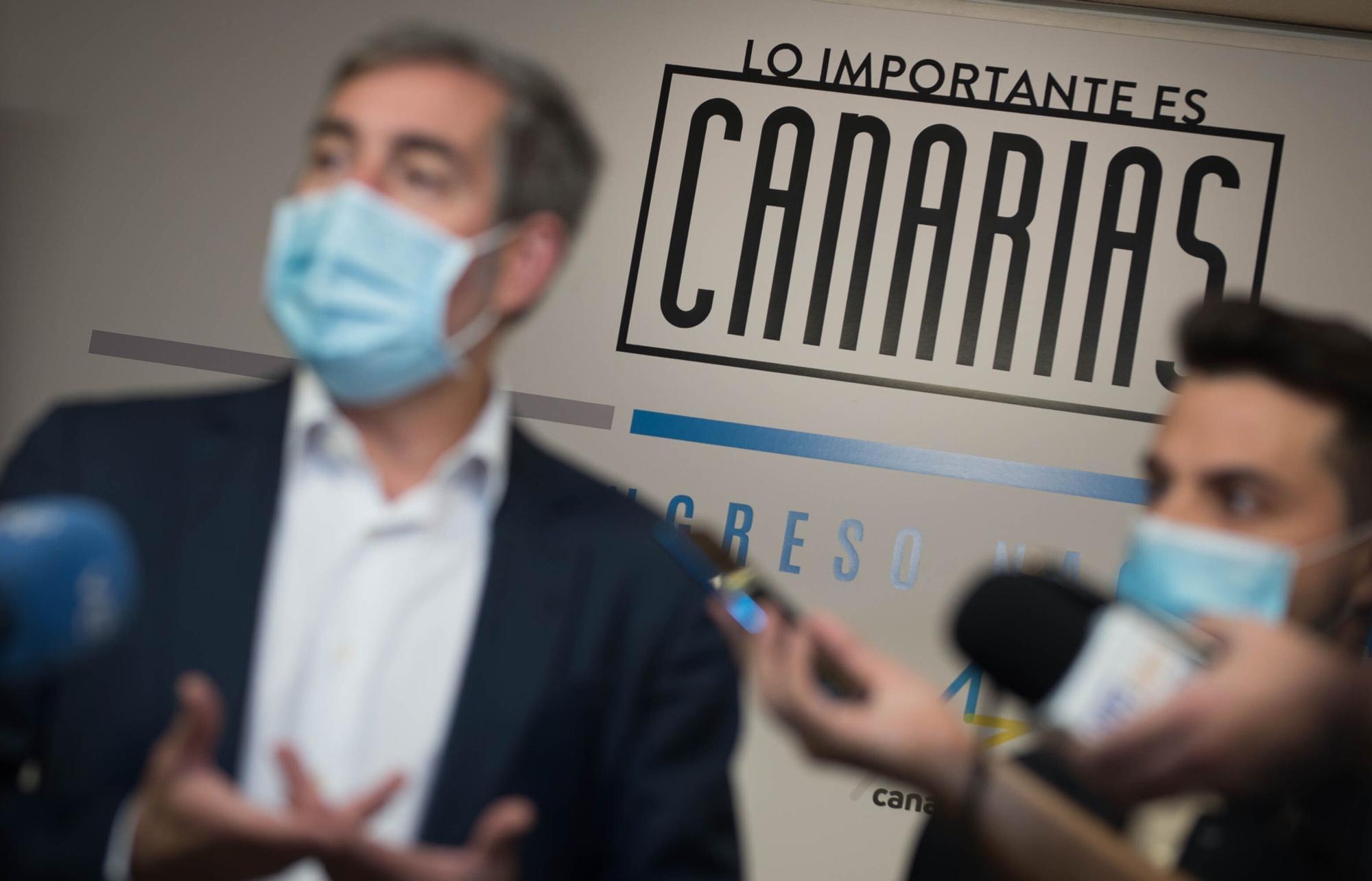 Fernando Clavijo presenta su candidatura a la secretaría general de CC