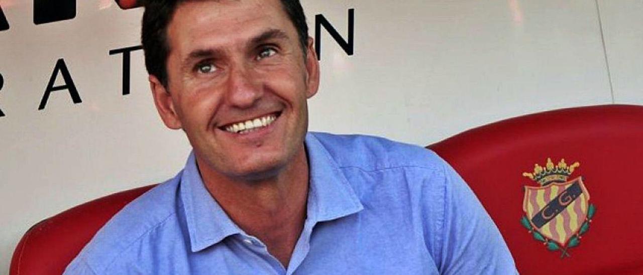 José Antonio Gordillo, en su época como entrenador del Nàstic de Tarragona.