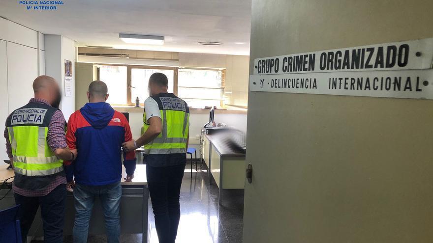 """Detenidos seis miembros de una """"banda del rolex"""" en Palma"""