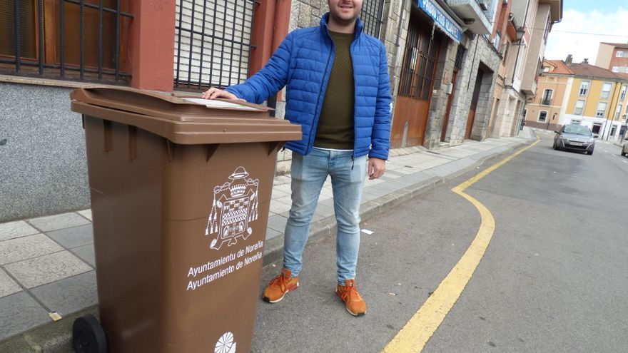 Siero implantará el contenedor marrón en las zonas urbanas