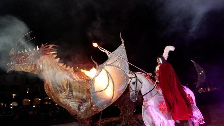 San Jorge se queda sin desfile y la feria del libro será en junio