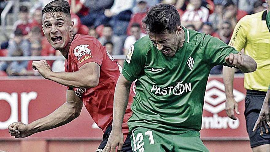 La cruz: Martin Valjent dejó libre a Djurdjevic en el gol del Sporting