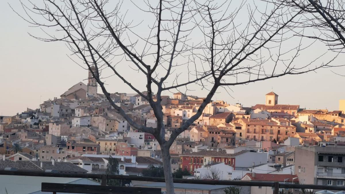 Vista de la localidad de Cehegín.
