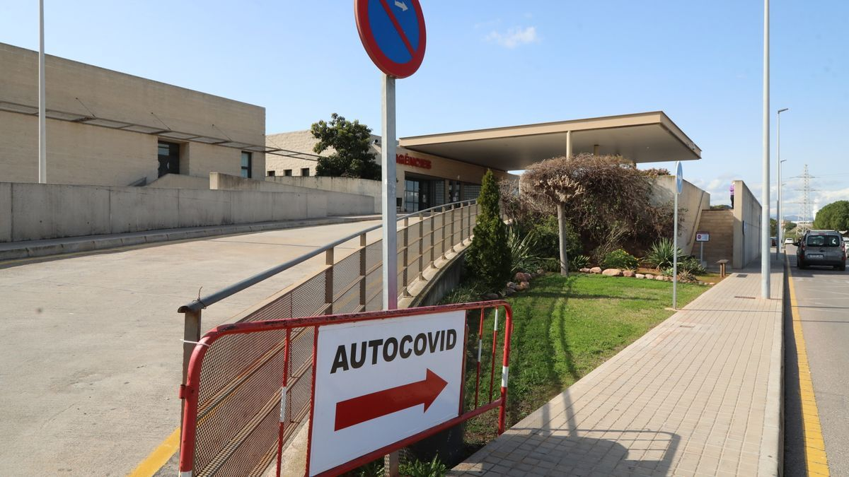 Imagen de Urgencias del Hospital de la Plana de Vila-real.