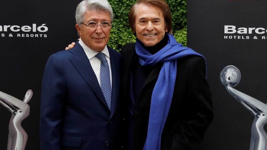 """Raphael, premio """"Platino"""", quiere volver al cine de la mano de Enrique Cerezo"""