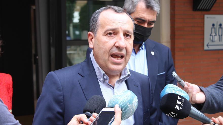 José Luis Ruiz Espejo, tras el 'congresillo' del PSOE de Málaga