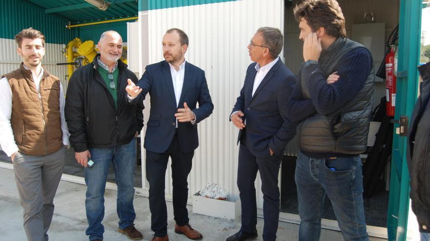 Unas 250 viviendas de Muro reciben ya gas canalizado de la nueva planta local
