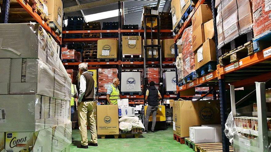 CC-PNC exige al Gobierno canario recursos para los bancos de alimentos