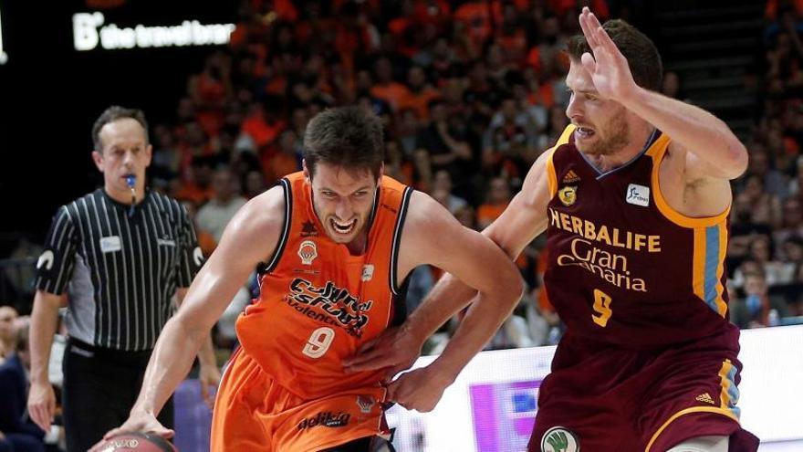 El Valencia Basket golpea primero al Gran Canaria