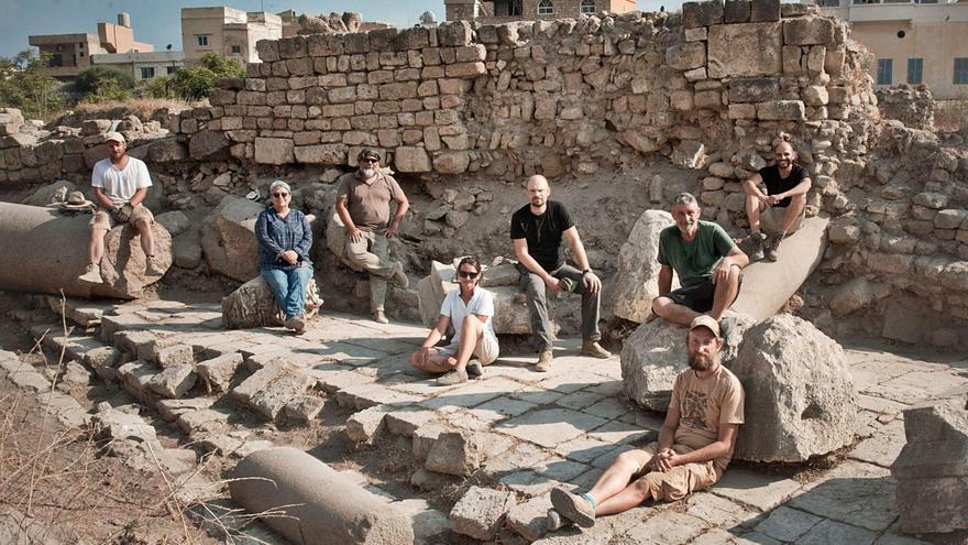 Un arqueólogo ibicenco en Líbano