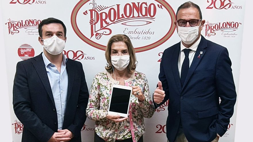Prolongo-Faccsa dona una treintena de tablets para los hospitales