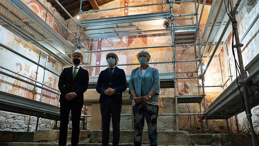 La restauración de las pinturas murales de Muga costará más de 200.000 euros