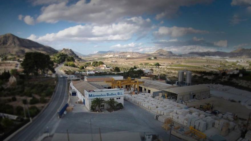 Este es el mármol alicantino que se exporta a países de todo el mundo