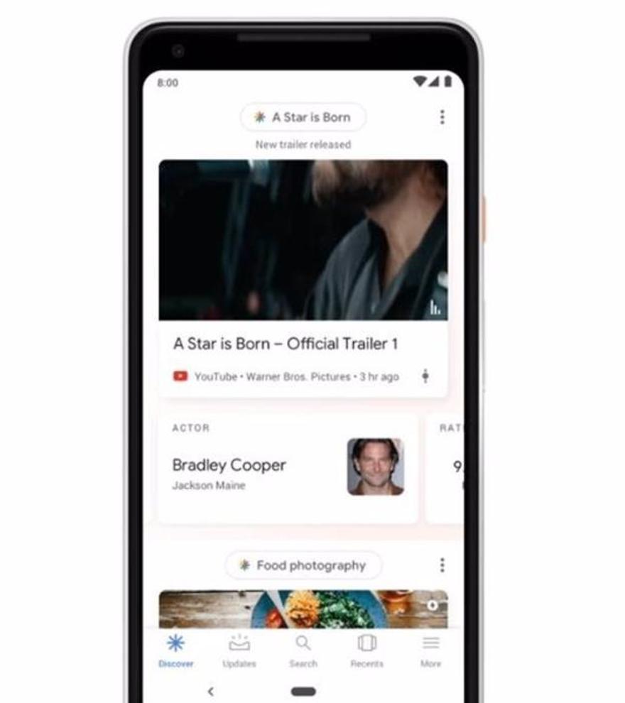 Google prueba un nuevo contador de 'likes' en Discover