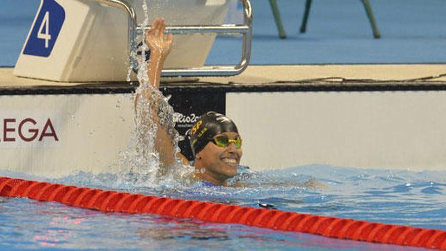 Perales suma una nueva plata en natación