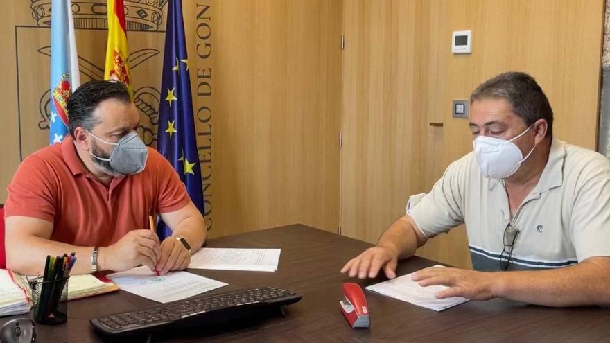 Gondomar mejorará las pistas de Borreiros por 63.500 euros