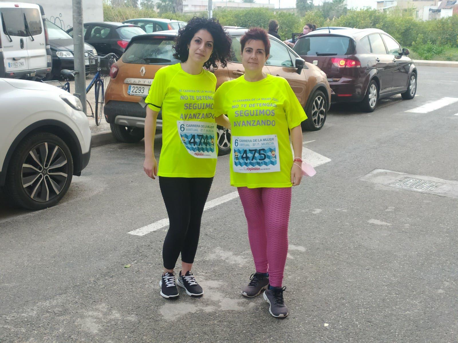 Participantes en la Carrera de la Mujer 2021