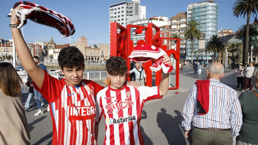 """Hablan los sportinguistas de la foto viral en el Tartiere: """"No hubo ningún problema"""""""
