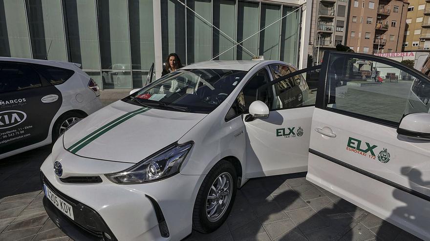Los taxistas de Elche ya compran solo coches ecológicos y el 54% de los buses serán híbridos en 2023