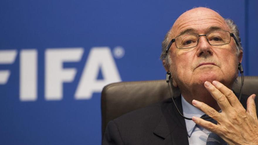 """Blatter: """"Damos la bienvenida a las investigaciones"""""""