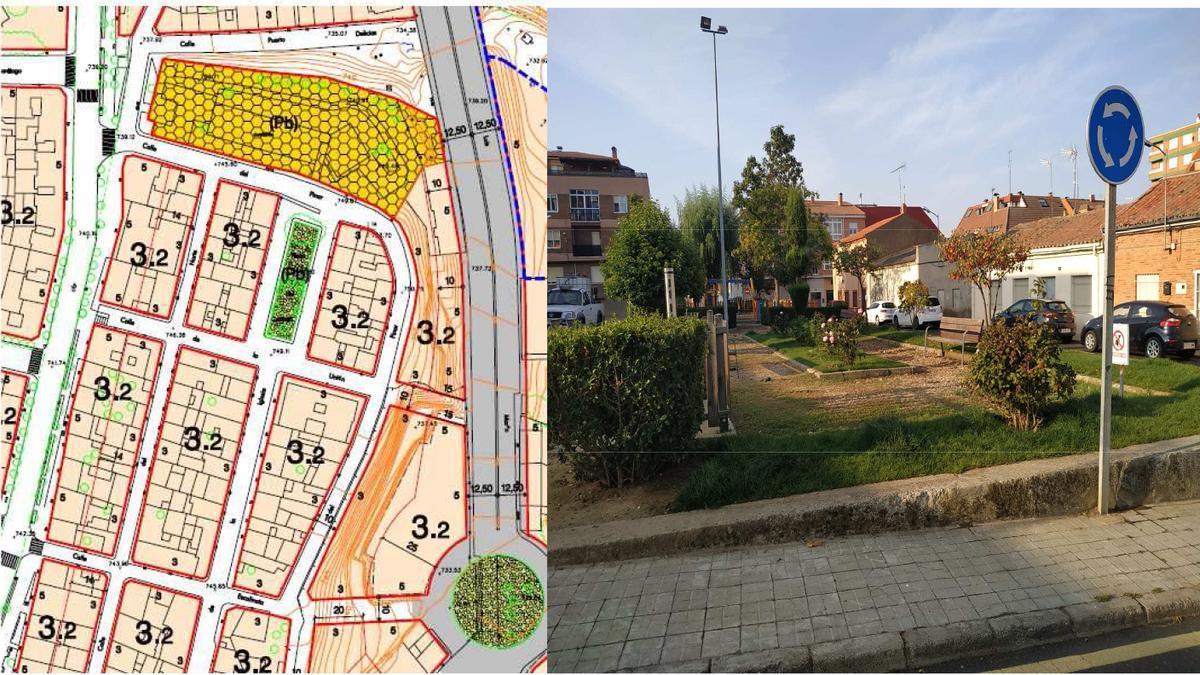 La plaza del Carmen, una de las zonas que se beneficiarán del taller mixto.