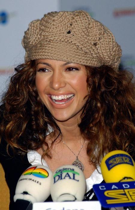La actriz y cantante en 2003