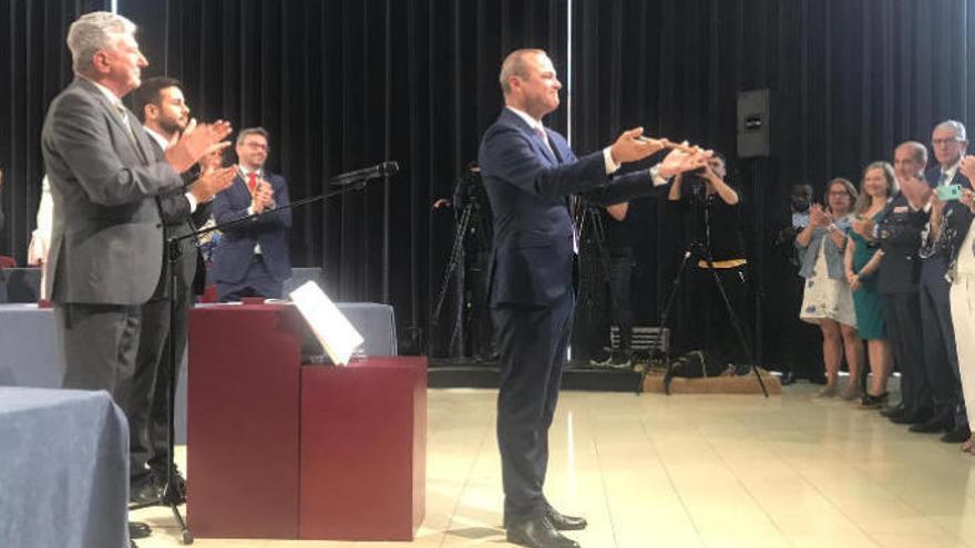 Augusto Hidalgo inicia su segundo mandato en Las Palmas de Gran Canaria