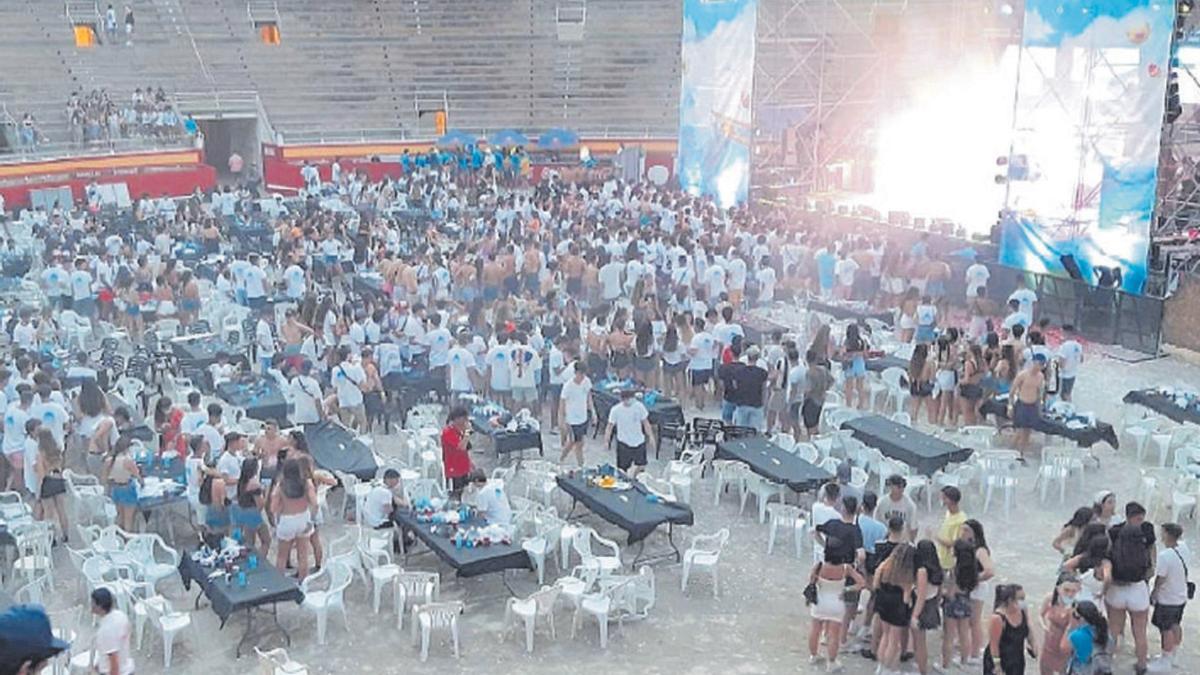 El concierto del pasado 15 de junio en la Plaza de Toros de Palma.