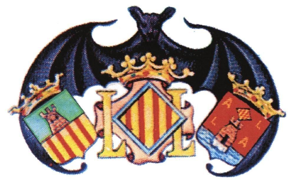 Castellón-Segorbe-General Sanmartín, con los escudos de las tres provincias. En la demarcación están las calles Castellón y Alicante y, claro, estamos en València.