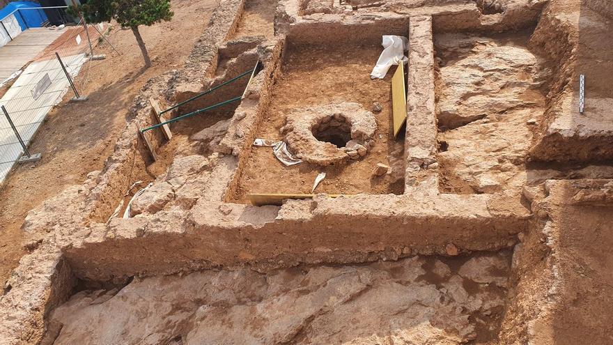 Descubren un patio de la época andalusí en el castillo de Onda