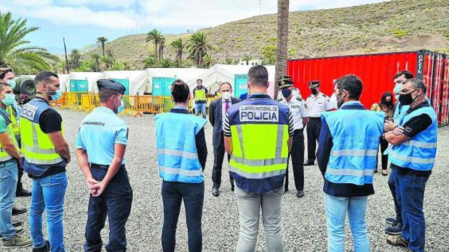 Críticas del Gobierno al Frontex el día que su director hace una visita «estratégica»