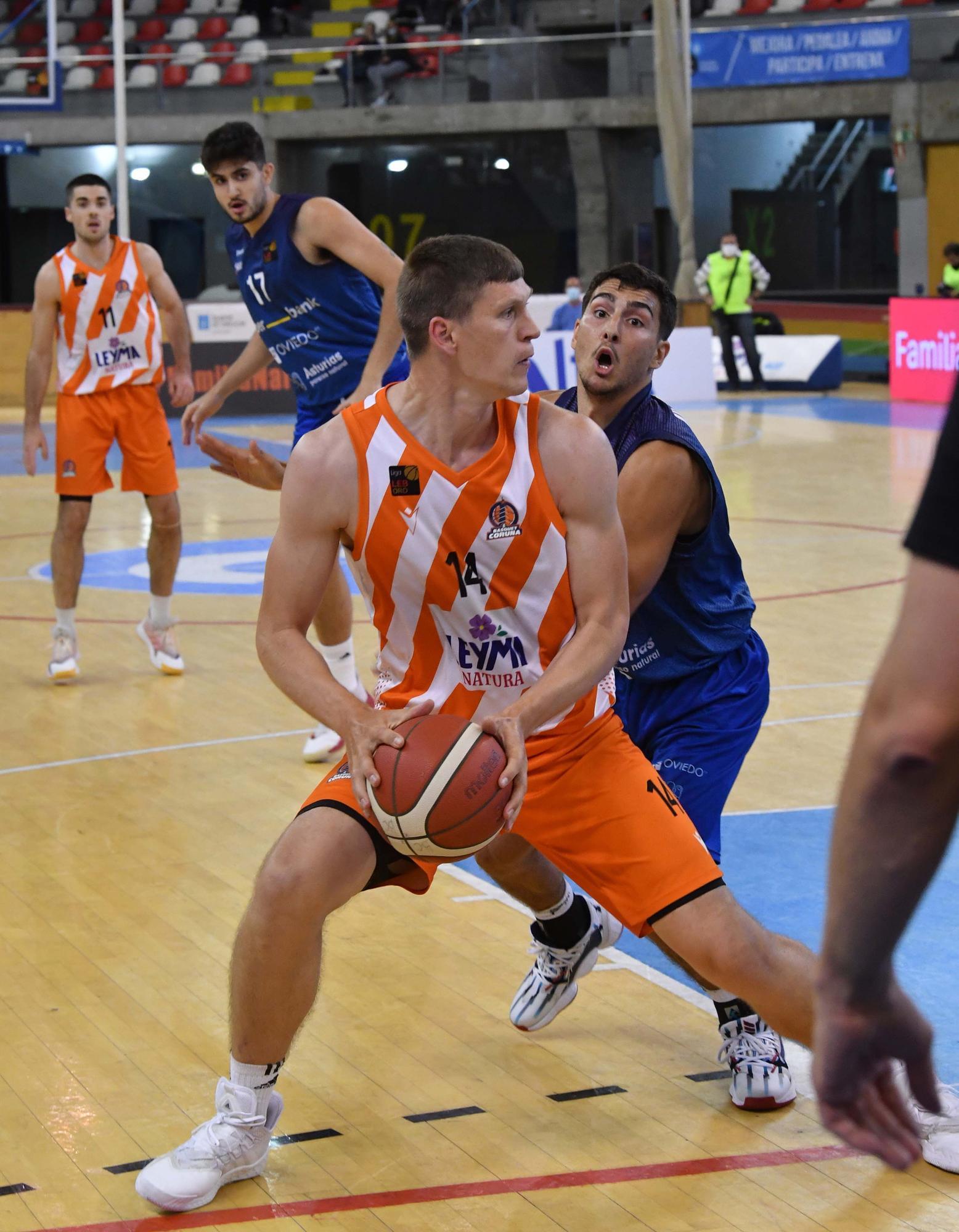 El Leyma le gana 74-66 al Oviedo