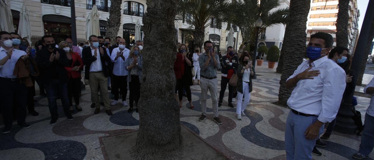 Puesta de largo de Carlos Mazón en la Explanada de Alicante