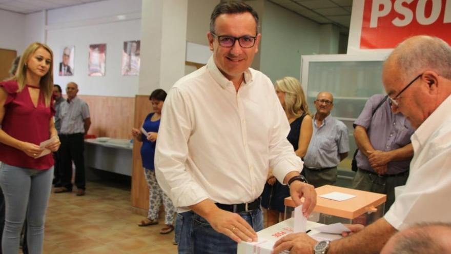 """Conesa anima a votar por """"un cambio tranquilo y sereno"""""""