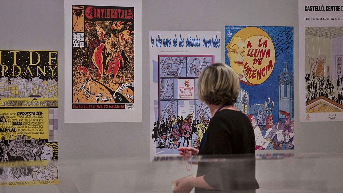 La exposición «València Línea Clara», organizada en 2016.   FERNANDO BUSTAMANTE