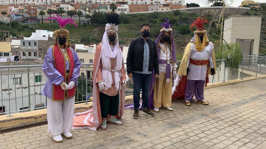Los Reyes Magos llegarán este martes a la capital con un acto sin público retransmitido por TVC