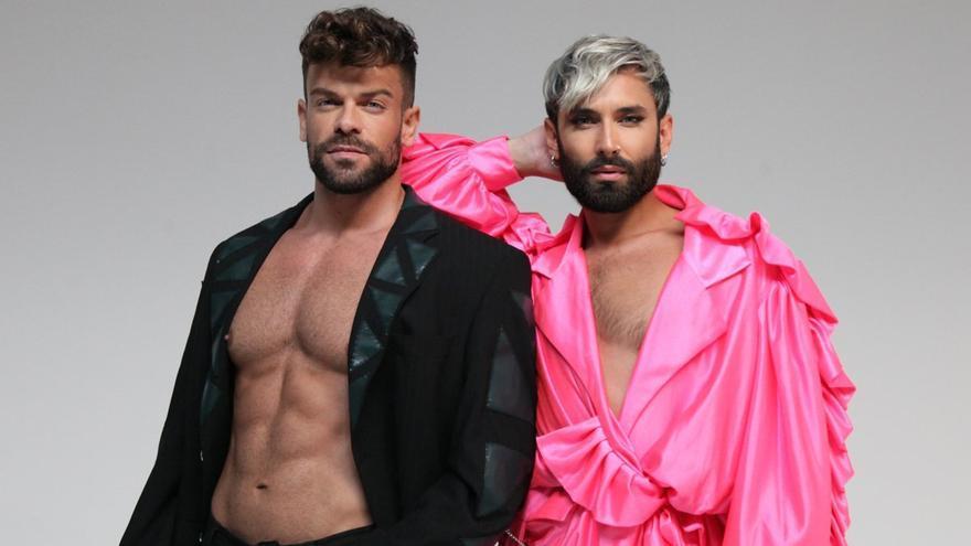 Ricky Merino y Conchita Wurst unen sus talentos