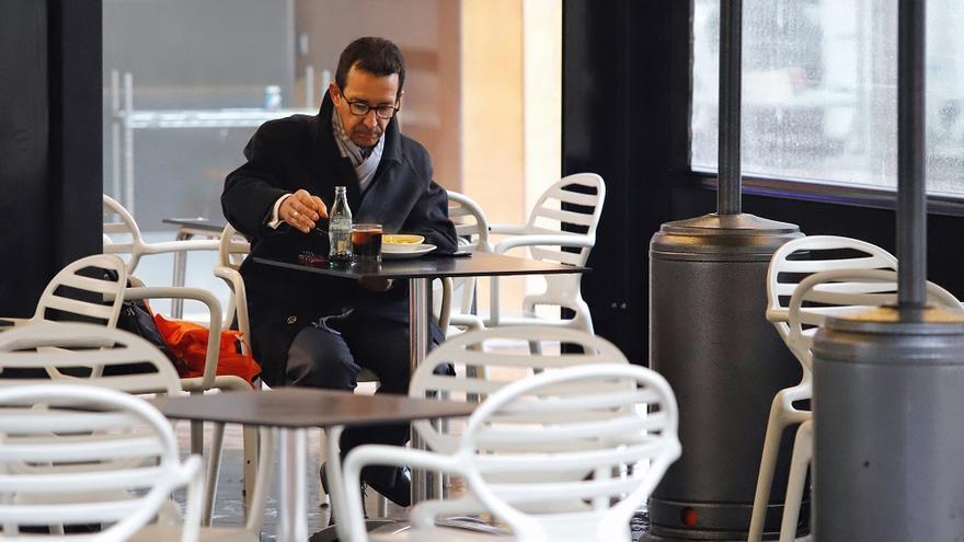Los hosteleros de Murcia no pagarán la tasa por montar las terrazas en 2021
