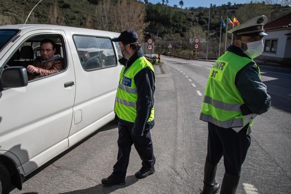 Coronavirus Zamora | Portugal blinda la frontera