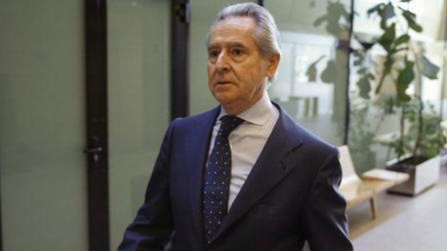 Un tret de la seva escopeta de caça s´endú el banquer Miguel Blesa