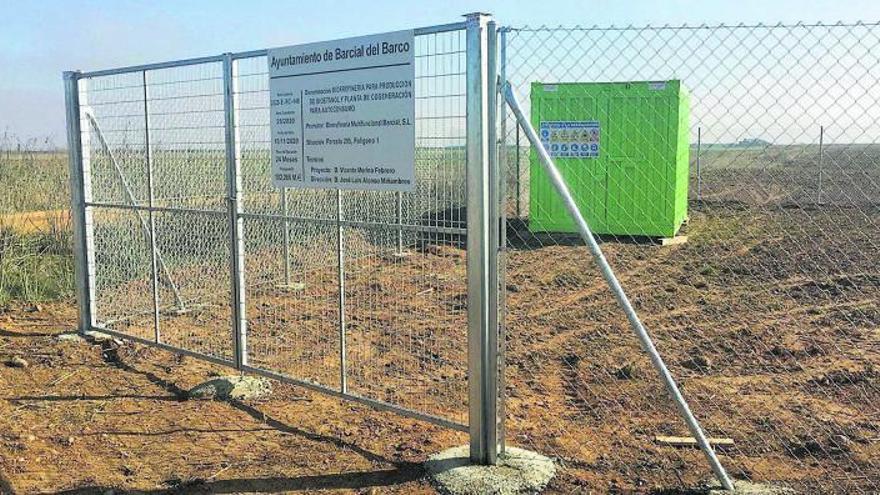 La obra de la biorrefinería de Barcial, en Zamora, arranca con los trabajos preliminares
