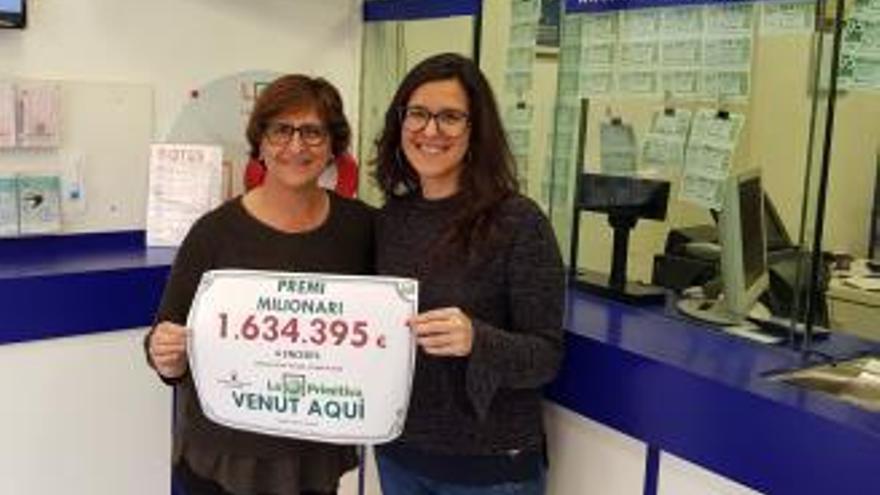 Premi de més d'1.600.000 euros a la primitiva de Roses