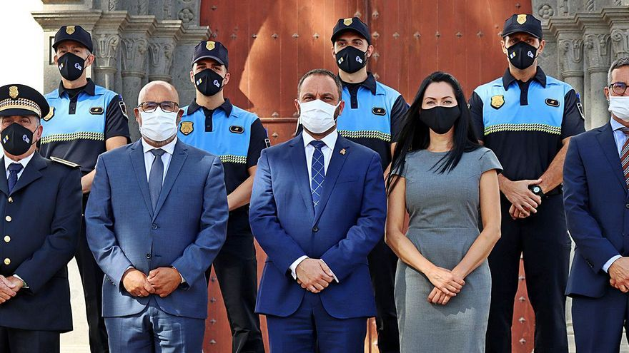 La Villa de Moya incorpora cuatro nuevos agentes a la Policía Local